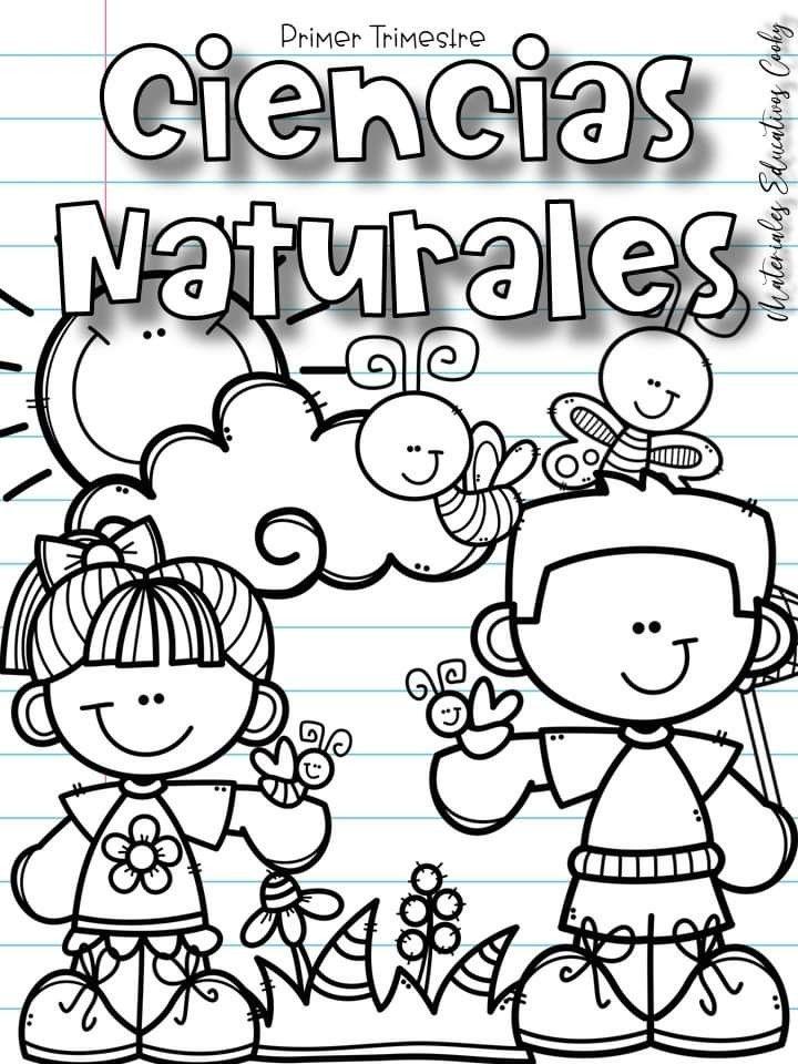 Pin De Marcela Quinonez En Portadas Escolares Portada De Cuaderno De Ciencias Fotos De La Escuela Portadas De Matematicas