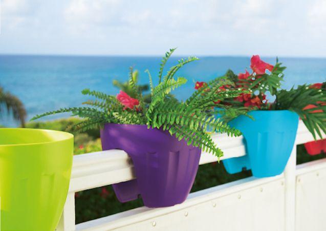 jardiniere balcon plastique