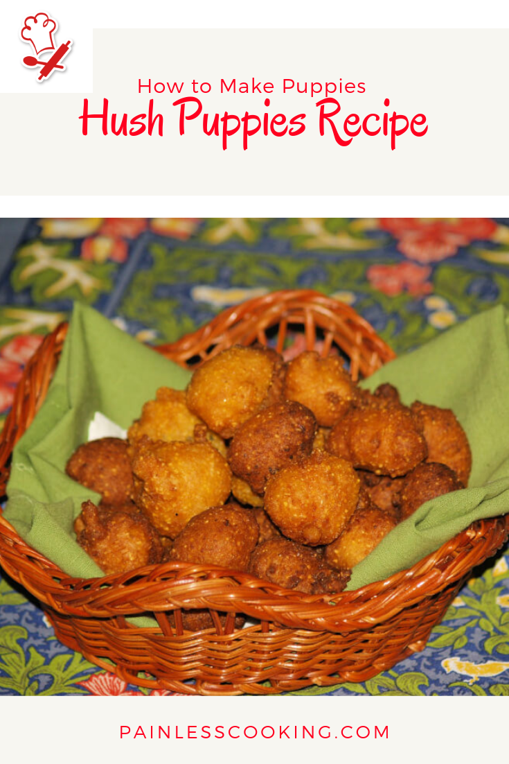 How To Make Hush Puppies Hush Puppies Recipe Recipes Best Side Dishes