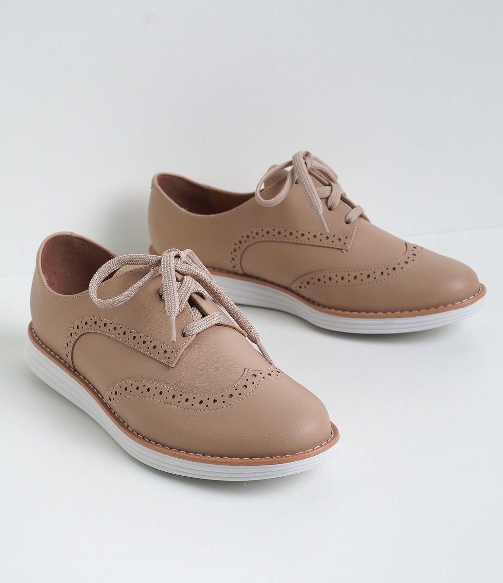 Sapato Feminino Material Sintu00e9tico Oxford Marca Vizzano COLEu00c7u00c3O INVERNO 2016 Veja Outras ...