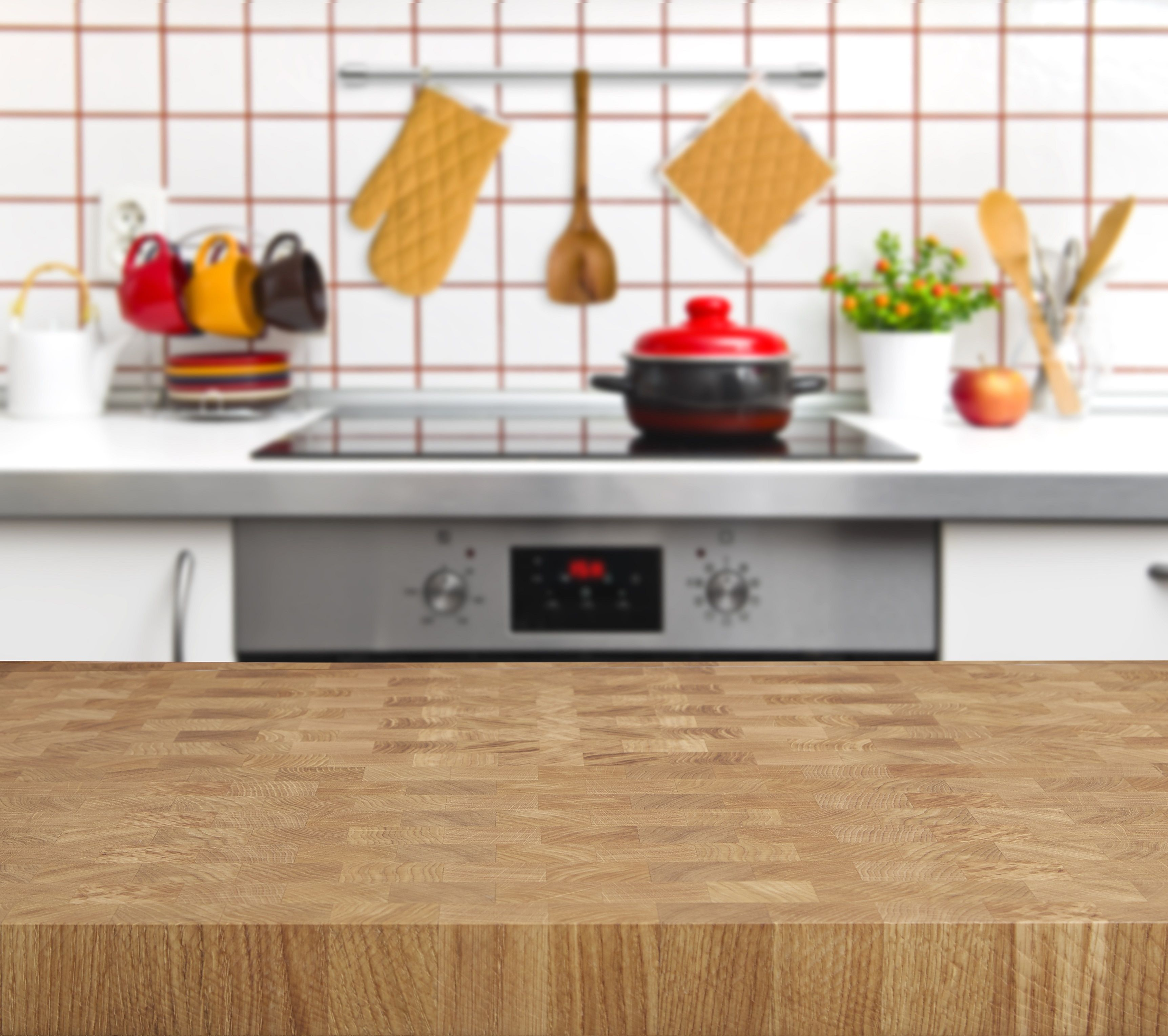Tuscan worksurfaces butcher block kitchen background for To do board for kitchen