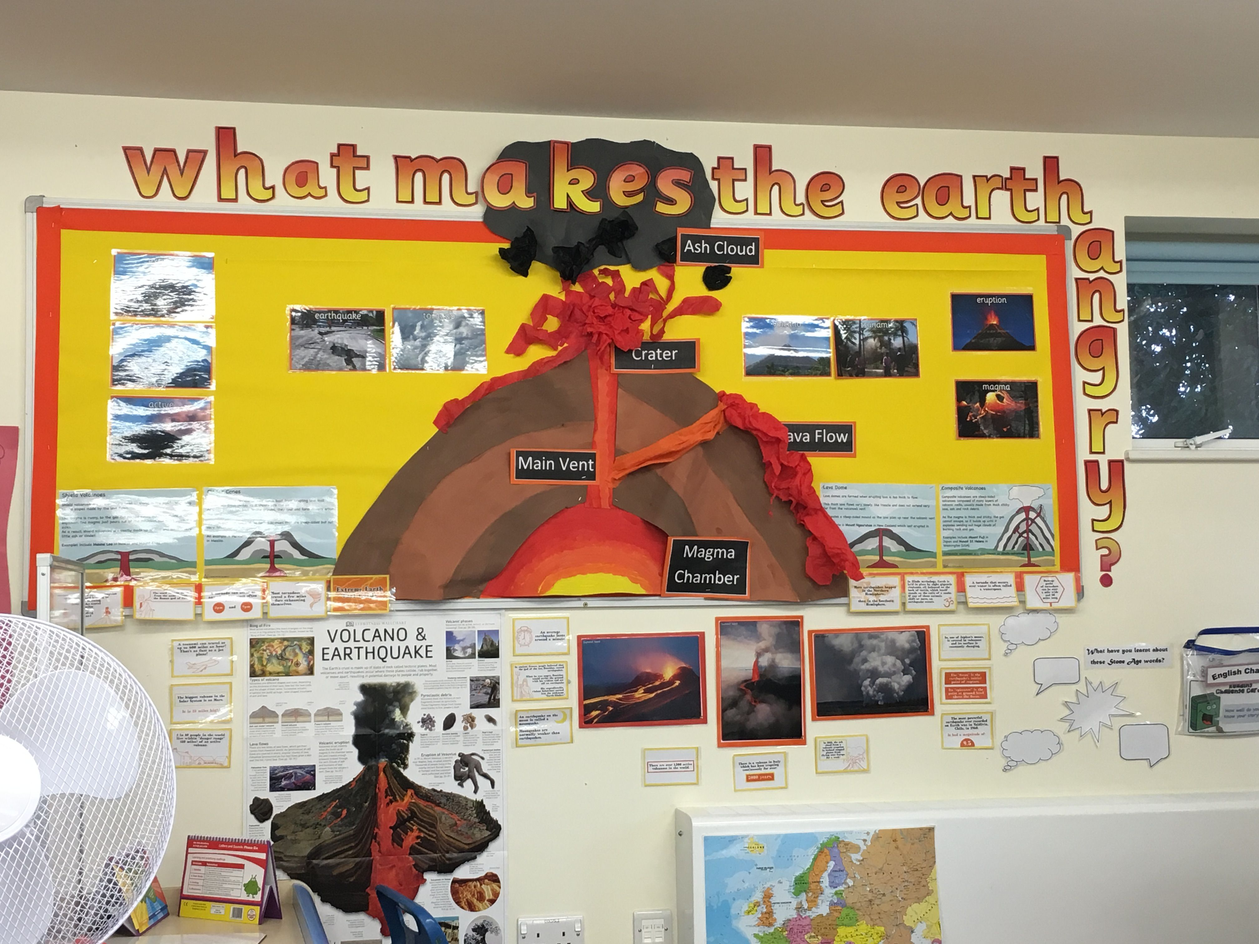 Volcano Display Natural Disasters What Makes The Earth