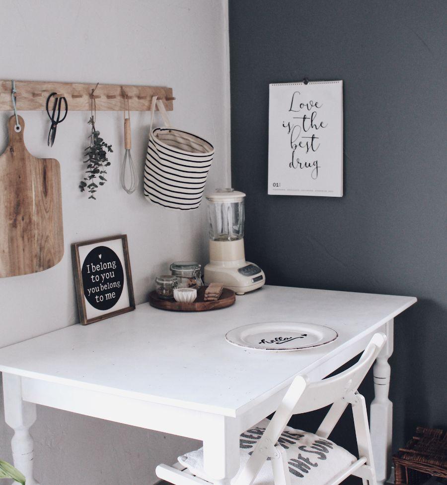 küche neu gestalten  schnell und einfach mit tafelfarbe