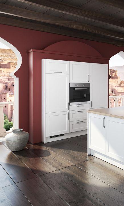 tolle romantisch Küche, eingebaut in die Wand, im Marrakesh Style ...