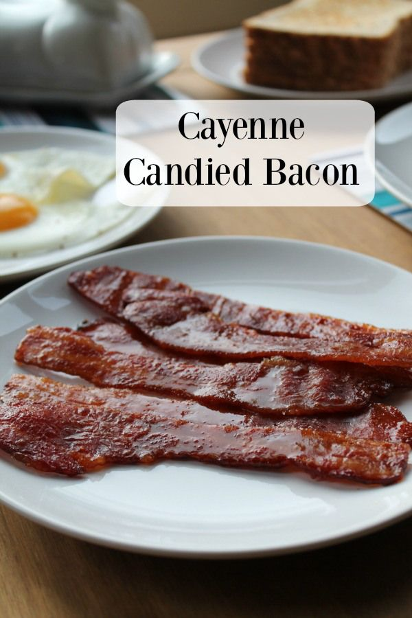 Cayenne Candied Bacon! We're making bacon even better by adding sugar and spice!