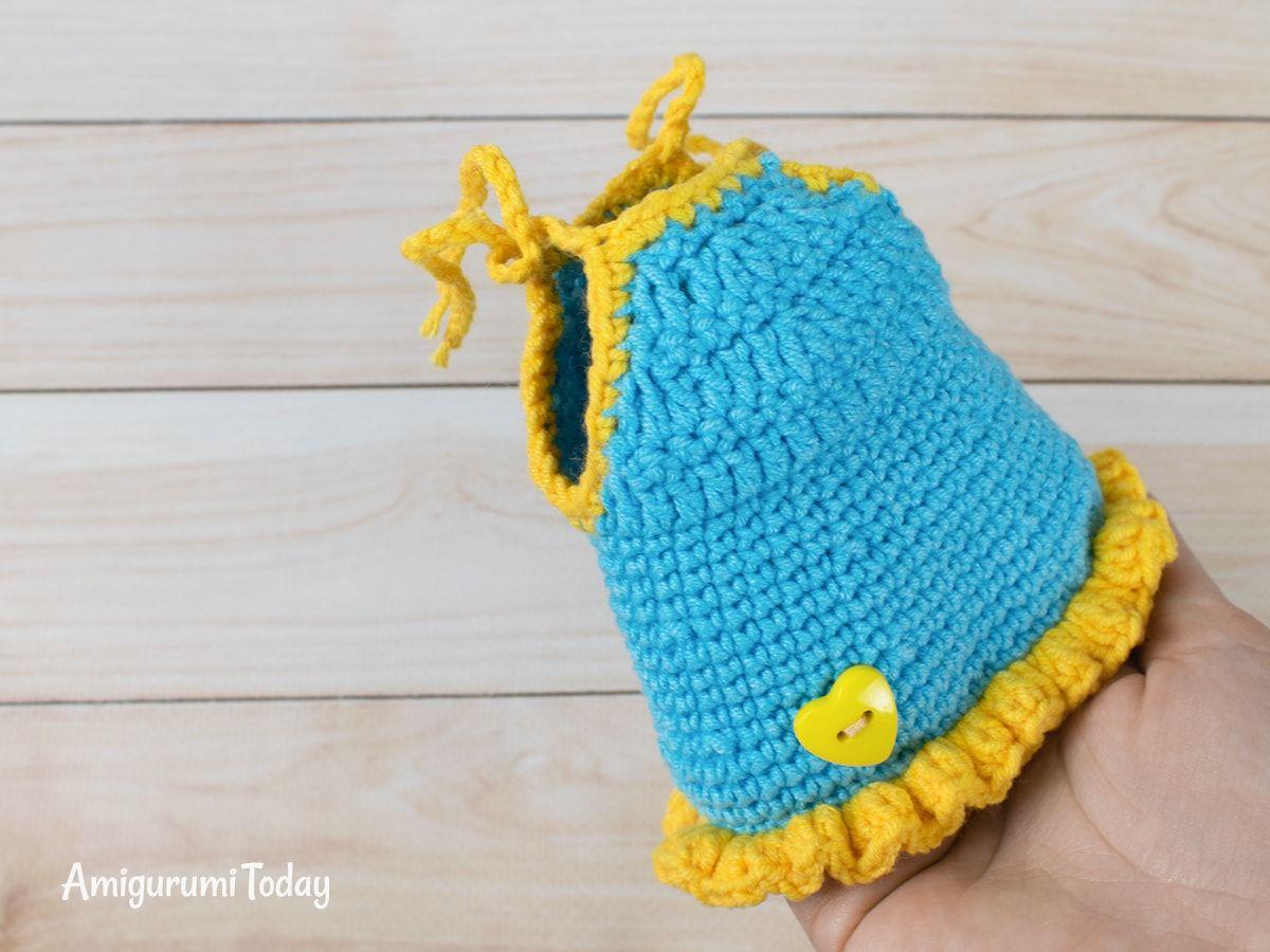 Cat Doll In Sundress Crochet Pattern Crochet Angel Pattern