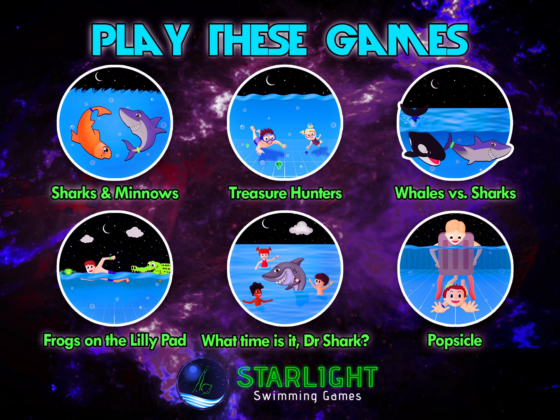 Make Your Swimming Pool Much More Fun With Waterproof Glow In The Dark Game Pieces And Multiple Swimming Games With Pool Party Games Swimming Games Pool Party