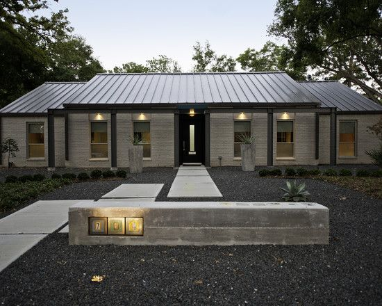 Modern Remodel awesome modern family home design: gorgeous exterior view gravel