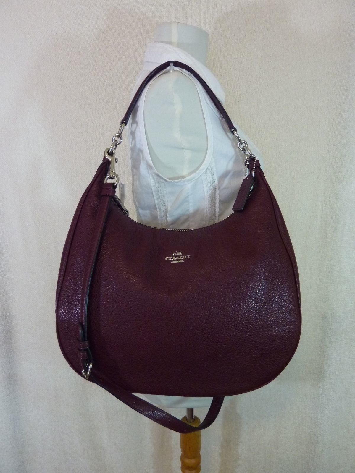 5847db8b6d20 Coach Leather Large Harley Hobo Bag. Hobo bags are hot this season! The  Coach…