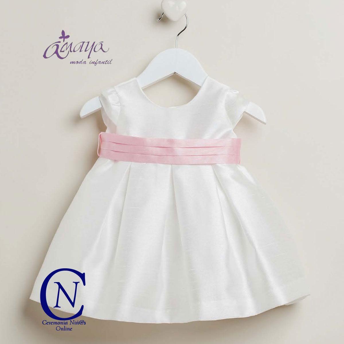 Vestido De Bebe Ceremonia Artesania Amaya Modelo 22226 Ropa Vestidos De Fiesta Para Niñas Moda