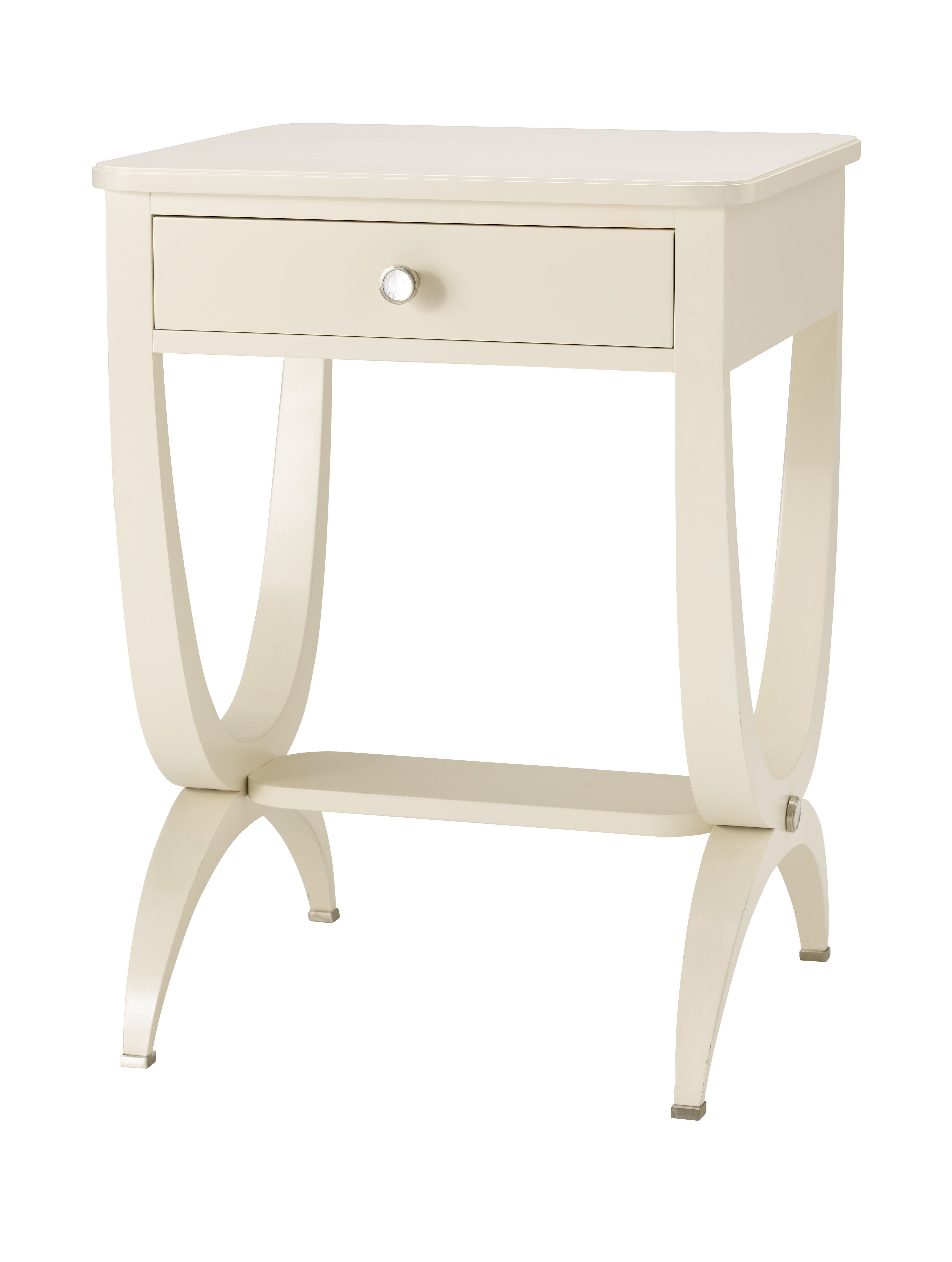 Cream Bedside Tables: Nina Campbell Nina Campbell