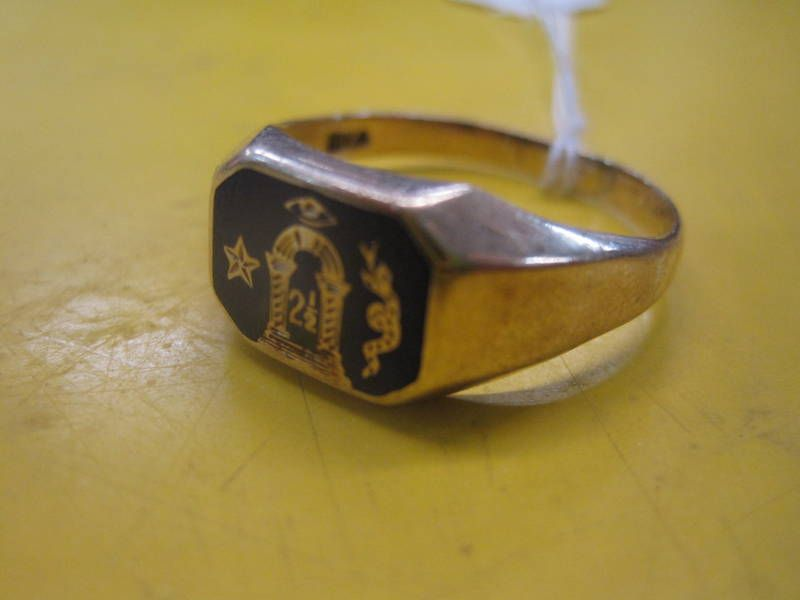 Royal Arch Ring Found In An Antique Store In Canada. (With