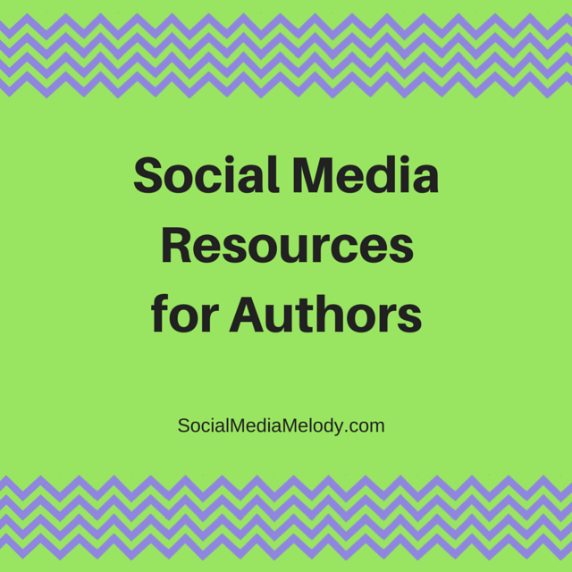 Social Media Resources for Authors | Melody Jones, Social Media Management Services