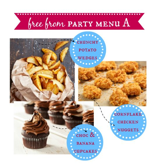 {Free From} Kids' Party Food Ideas