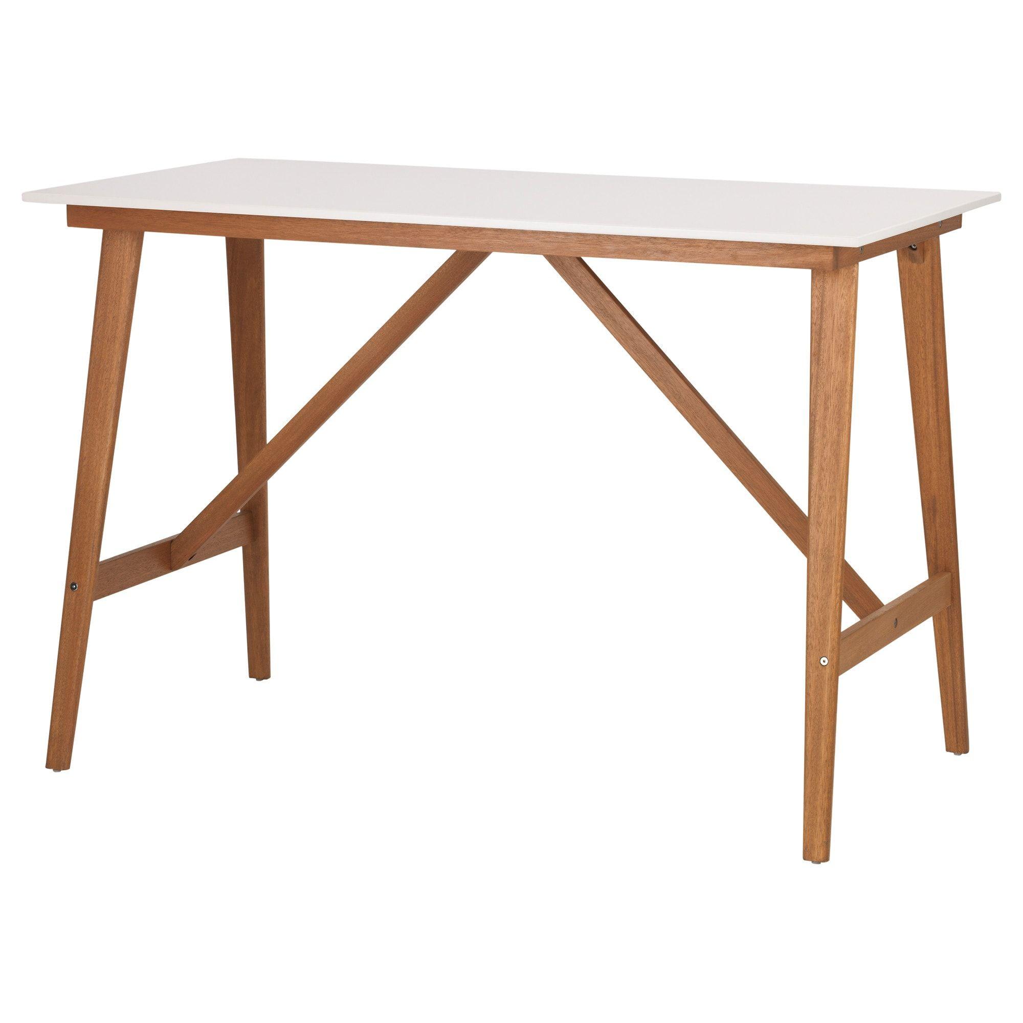Ikea Fanbyn White Bar Table In 2020 White Bar Table Pub Table