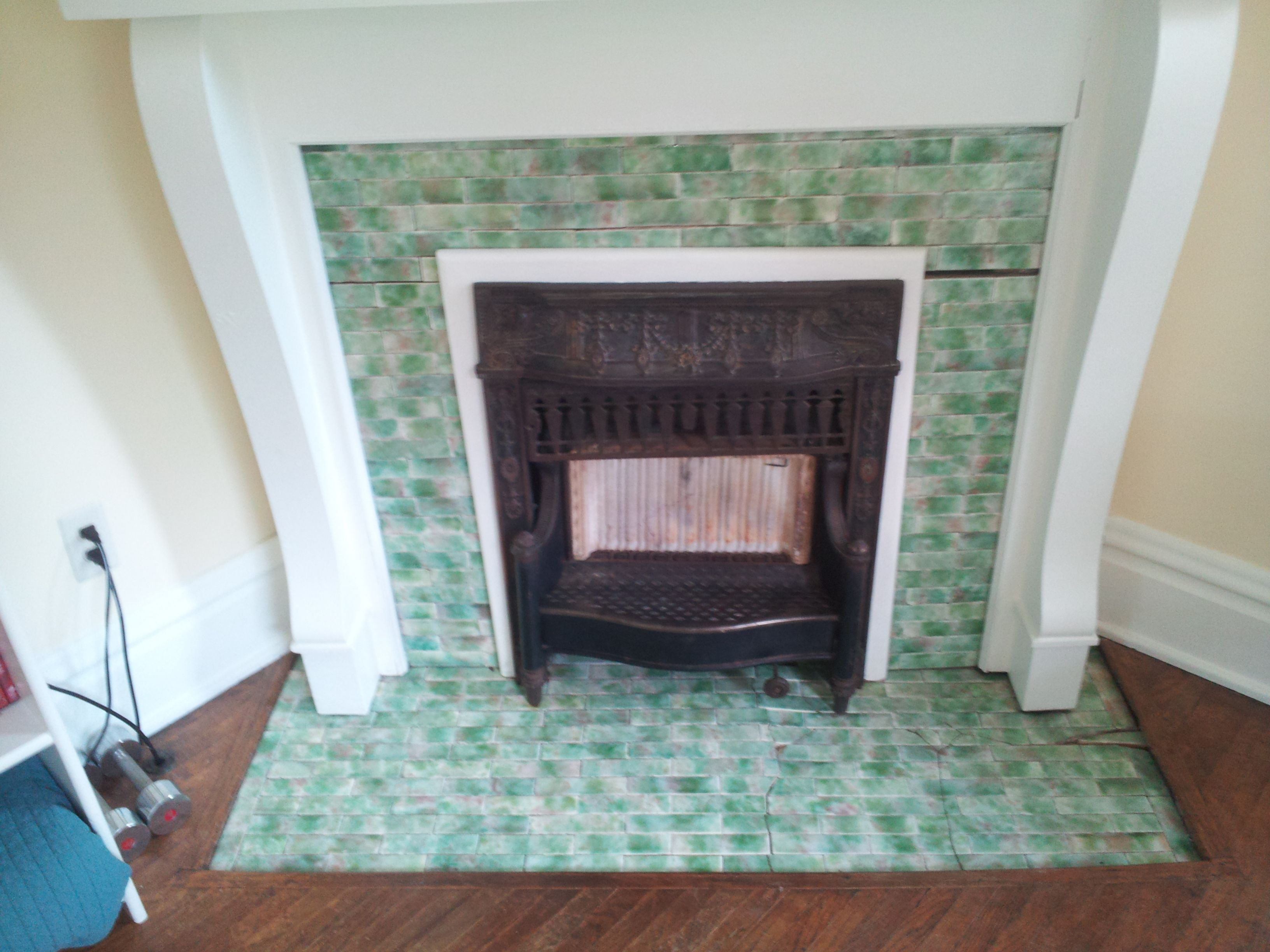 Good Color Interesting Tile Size Fireplace Ohio Real Estate