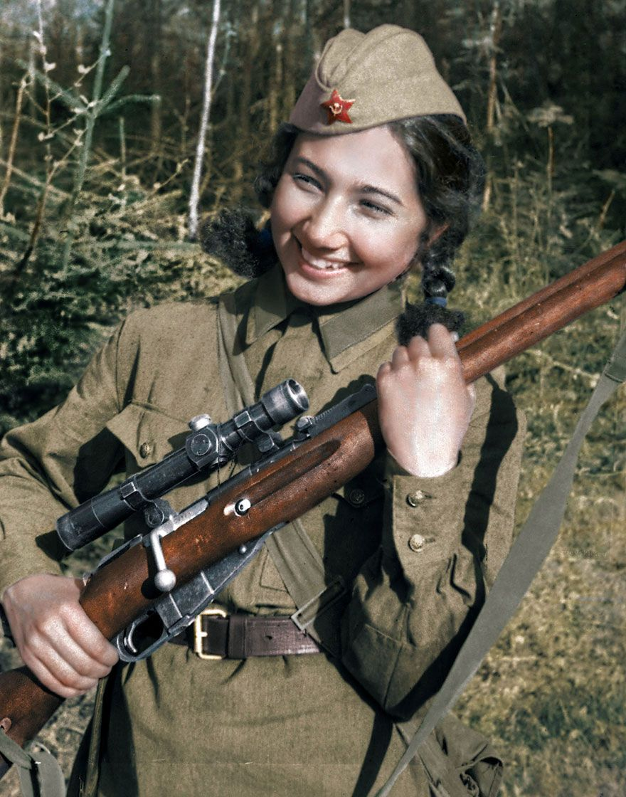 The best snipers of the Second World War: a list 34