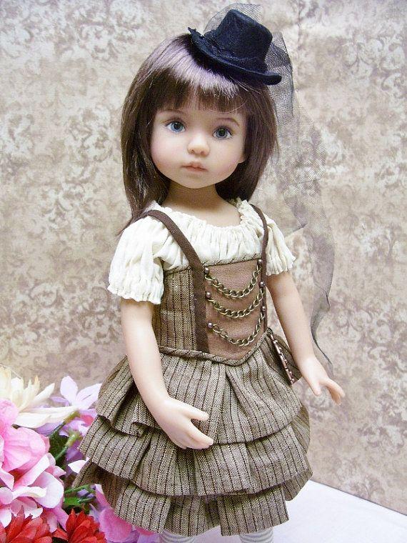 "13/"" Effner Little Darling /""Thursdays Child/"" PATTERN Steampunk Outfit"