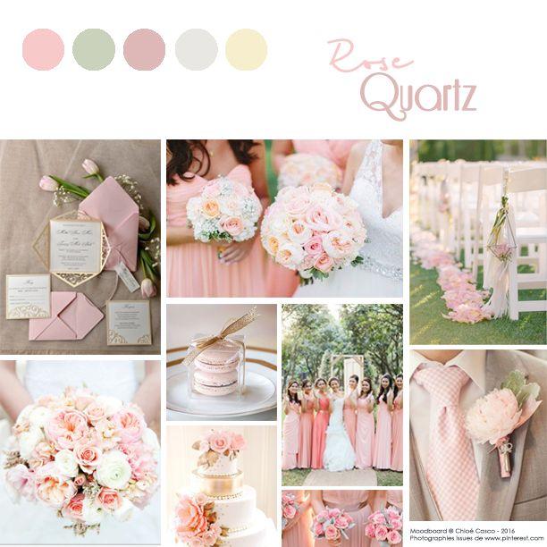 #rosequartz #colorof2016 #wedding2016 #weddinginspiration #pantone #mariage2016 #mariage