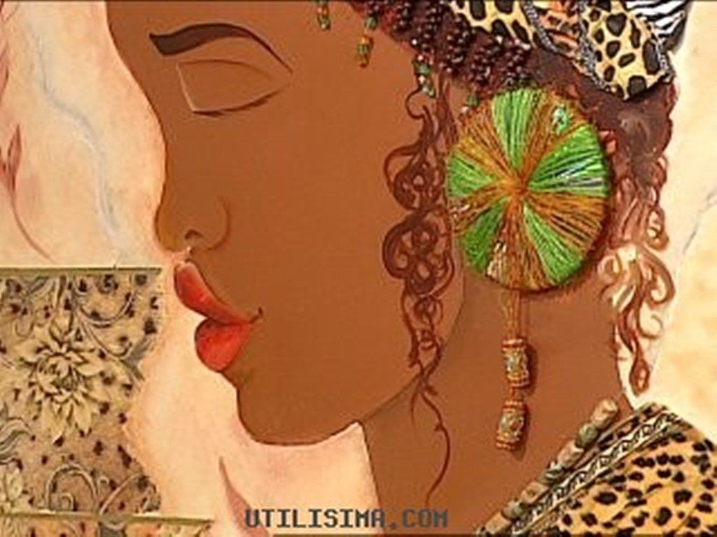 plantillas de cuadro de africanas | Paintings