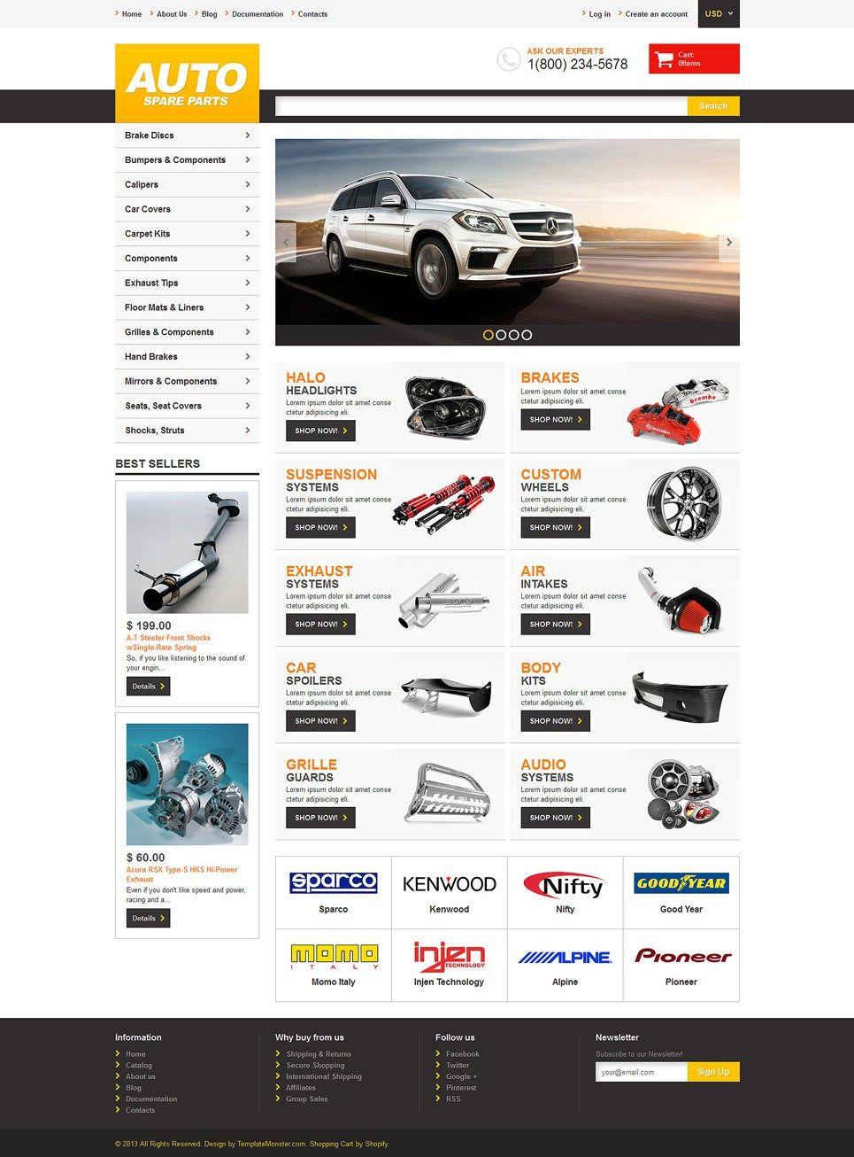 12 Best Car Automotive Shopify Ecommerce Themes Buildify Ecommerce Themes Magento Themes Shopify Theme