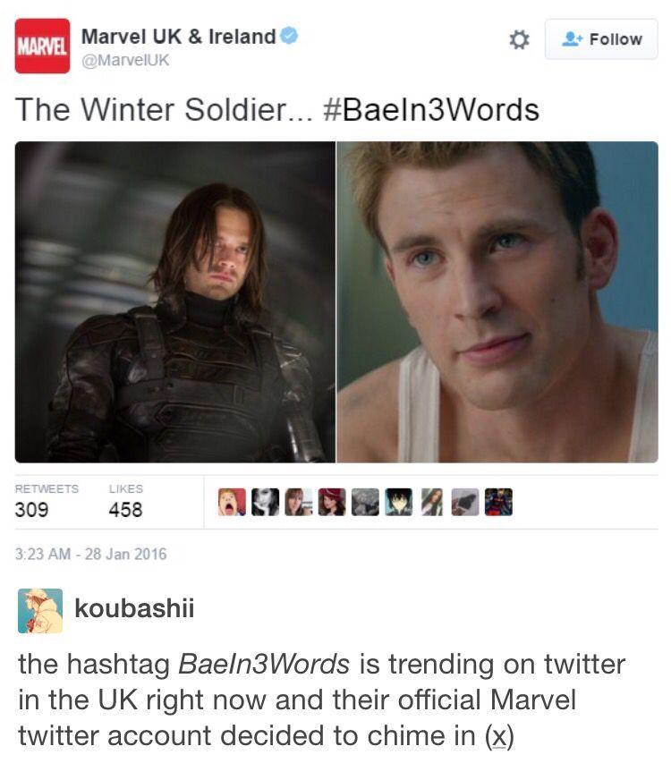 #BaeIn3Words