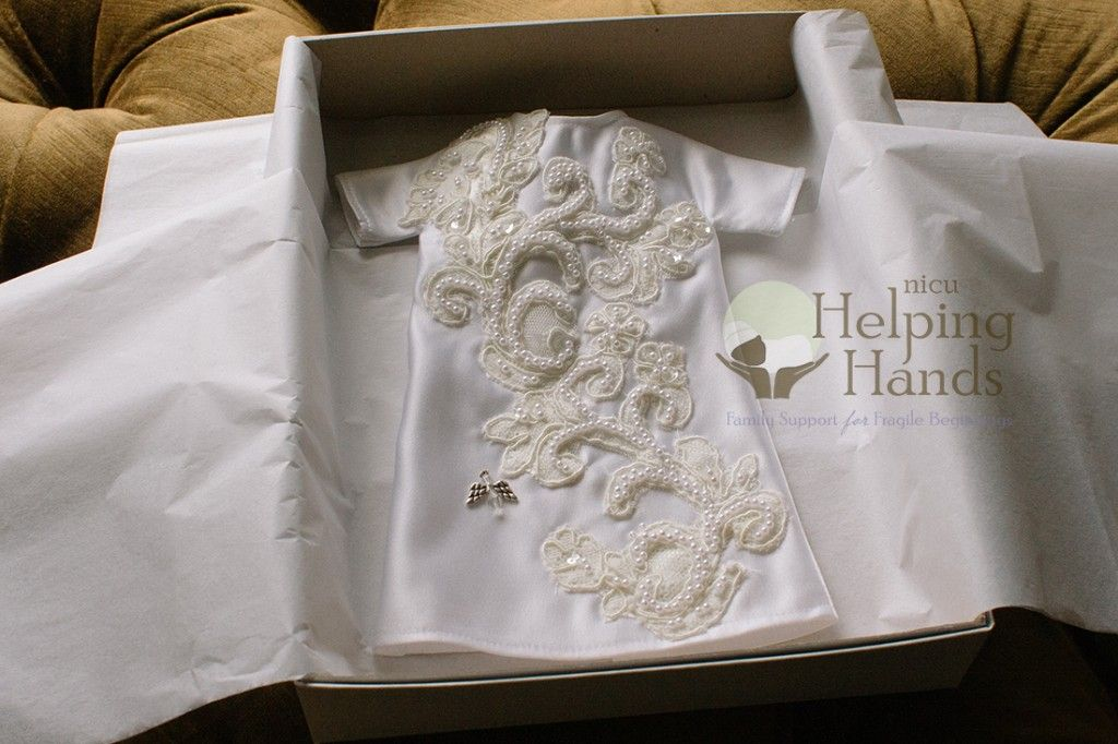 Old wedding dress hanging around in your closet why not for Donate older wedding dress