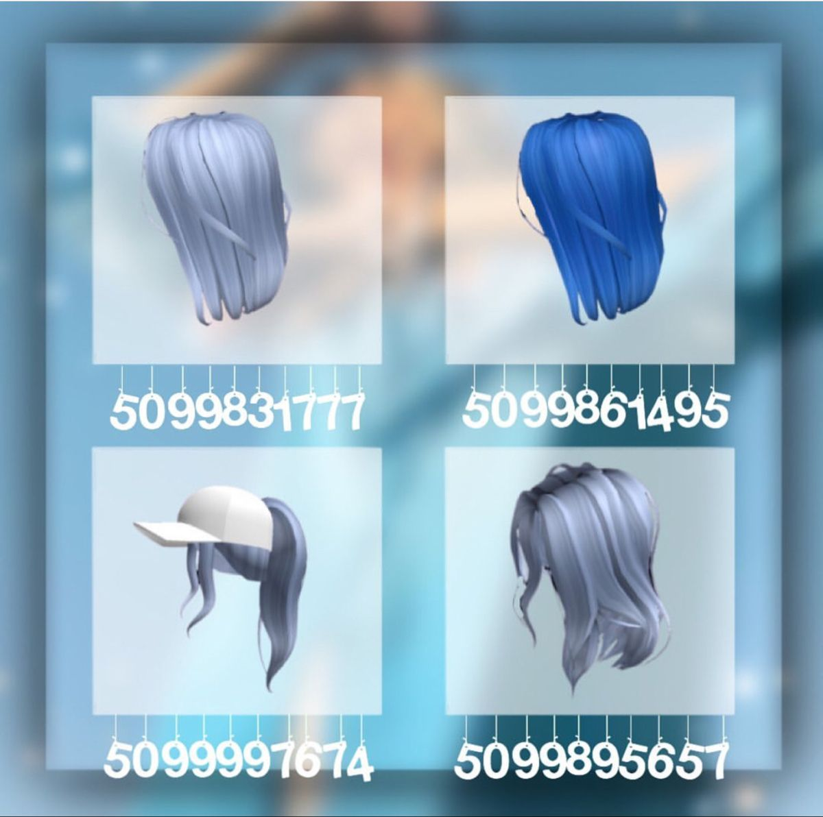 Hair Code In 2020 Coding Roblox Codes Roblox