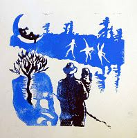 Activity: Lino Printmaking Using a Scene from a Collage