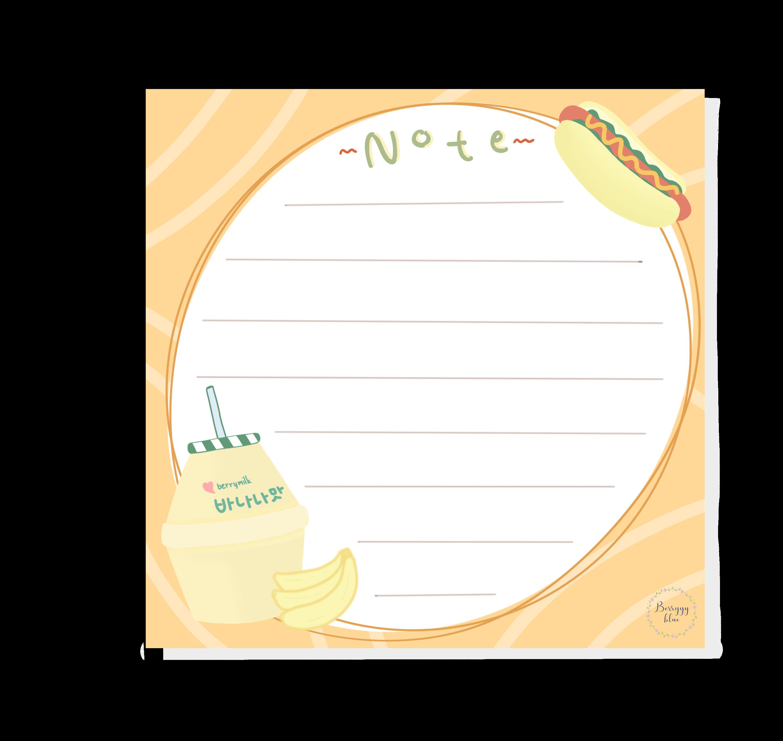 Cute Aesthetic Notes Logo