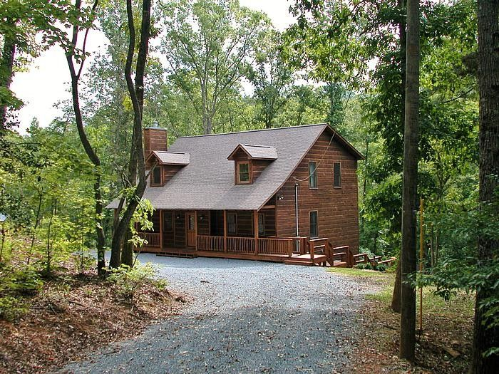 Ellijay House Rental Turtle Creek Cabin Retreat Awaits You In The