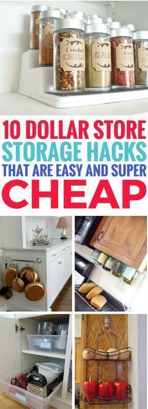 Small Closet Organization Diy Dollar Stores