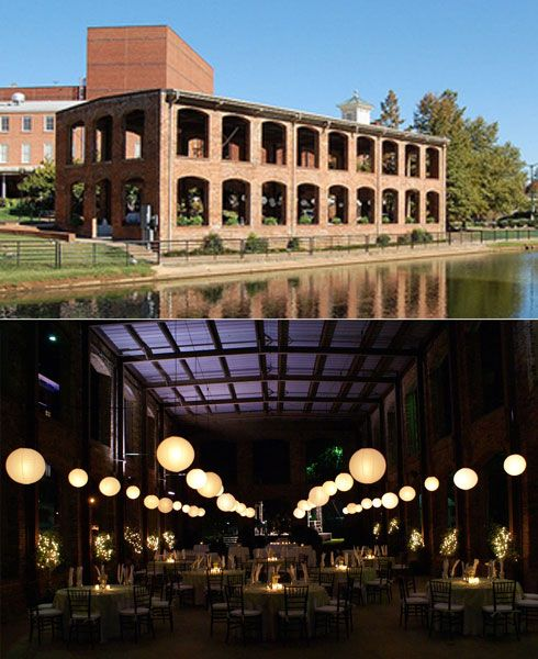 Greenville Wedding Venues | Wyche Pavilion Behind The Peace Center Downtown Greenville Sc