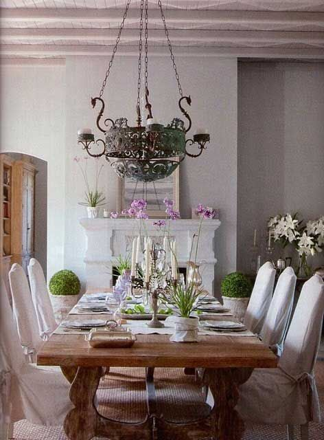 rustic romantic dining rooms home decor and design country rh pinterest com