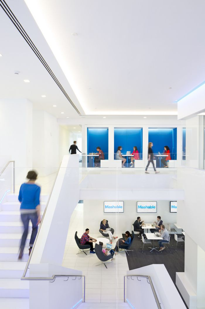 Mashable New York City Office Offices Of Online Media Company Located In