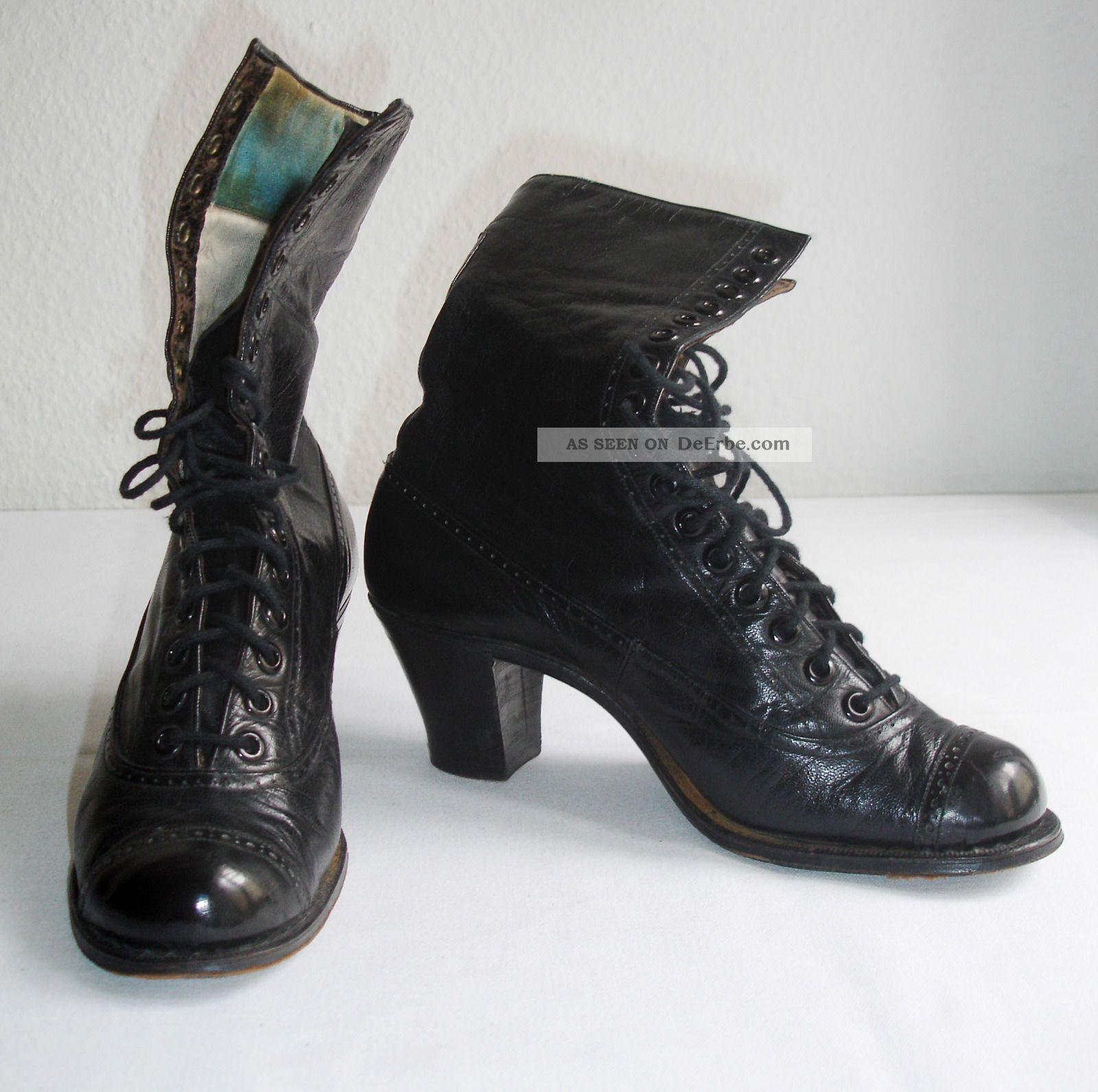 5431f33e2ece6b Historische Schuhe Gr. 35