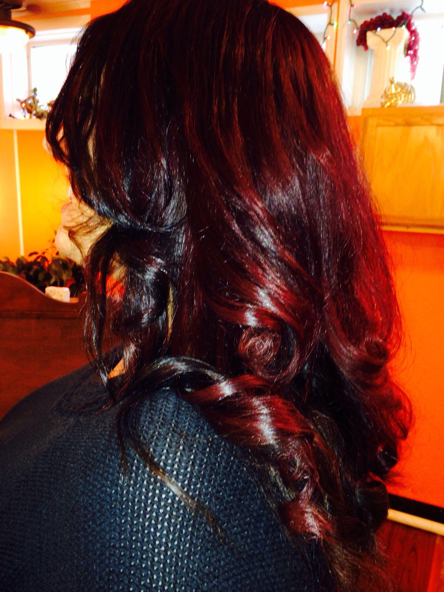Hair Color Cherry Chocolate Rockin Hair By Pamela Pinterest