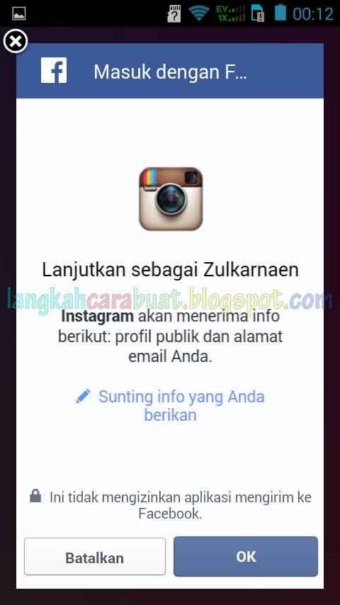 Cara Masuk Instagram Lewat Facebook Yang Sangat Simpel Dan Lebih