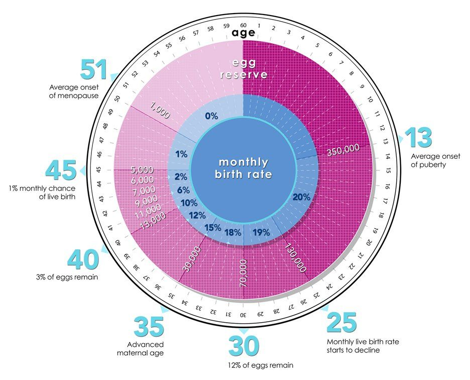 Live Birth Rate By Age Infographic Yikes Infertility Fertility