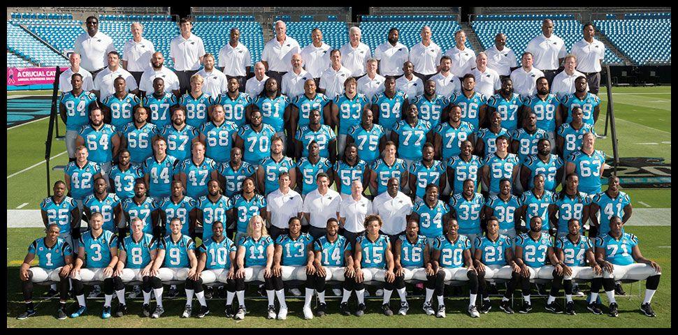 Carolina Panthers Official Roster Carolina Panthers Carolina Panthers Team Panthers