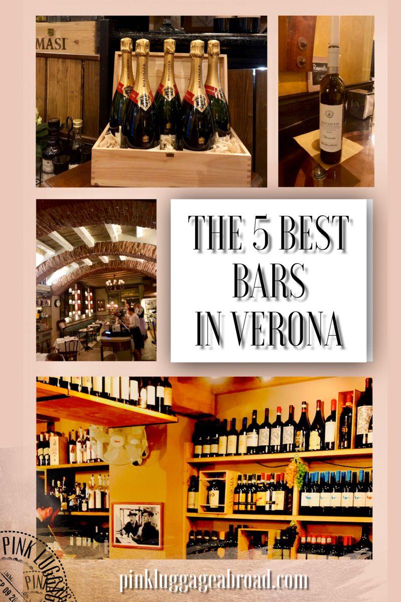 Click on the image to learn more about the 5 best bars in Verona, Italy. Cheers! #veronafiere #veronawinelove #travelitaly #italianholidays #italianlife #italiana #italytravelinspiration #italyfoodedrink #bestbars #wanderlusttravel
