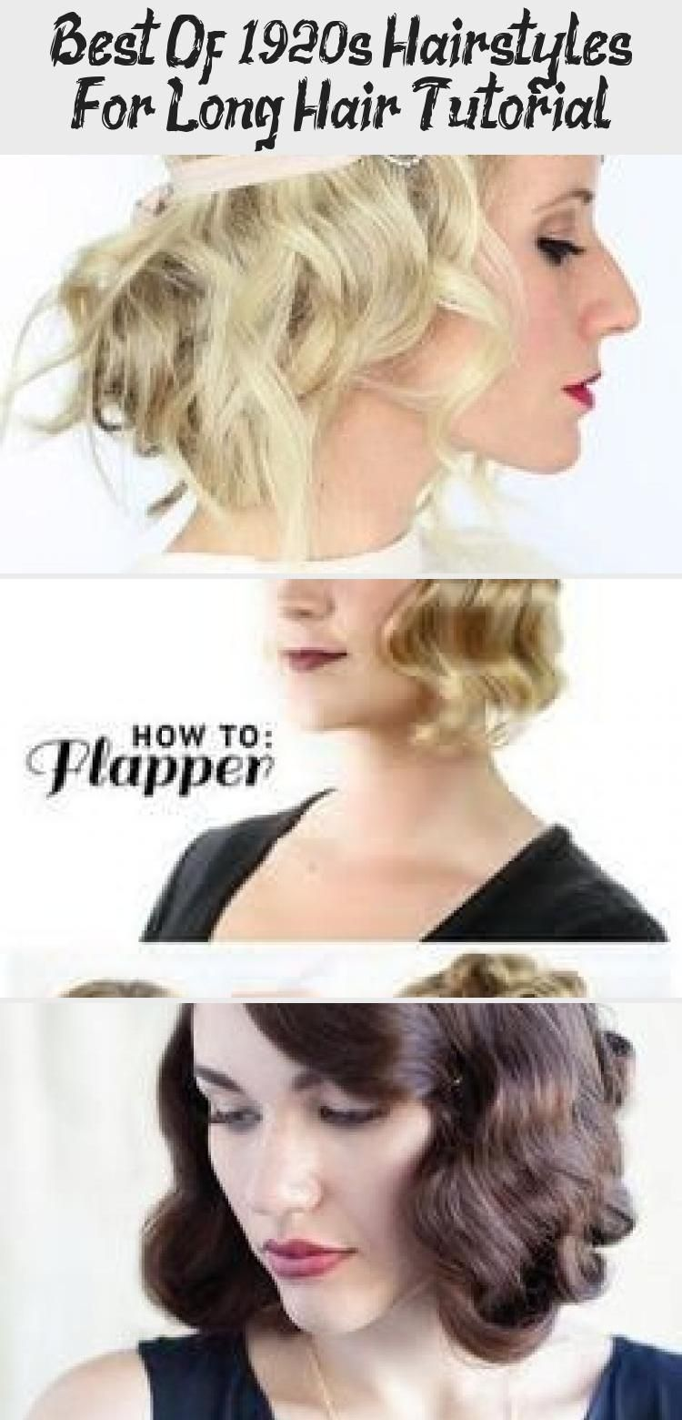 Best Of 1920s Hairstyles For Long Hair Tutorial 1920slonghair Best Of 1920s Hairstyles For Long Hair Tutorial Vintagehairstylescasual Vintagehairstyles1920 In 2020 Long Hair Styles 1920s Long Hair Long Hair Tutorial