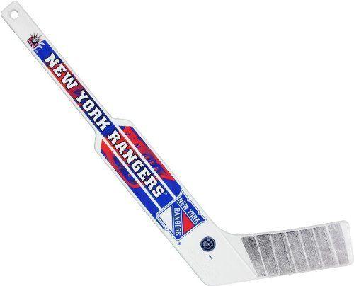 Sher Wood Nhl Plastic Mini Goalie Stick By Sherwood 5 99 Mini Plastic Hockey Goalie Stick With Nhl Team Lo Hockey Equipment Hockey Goalie Sports Equipment