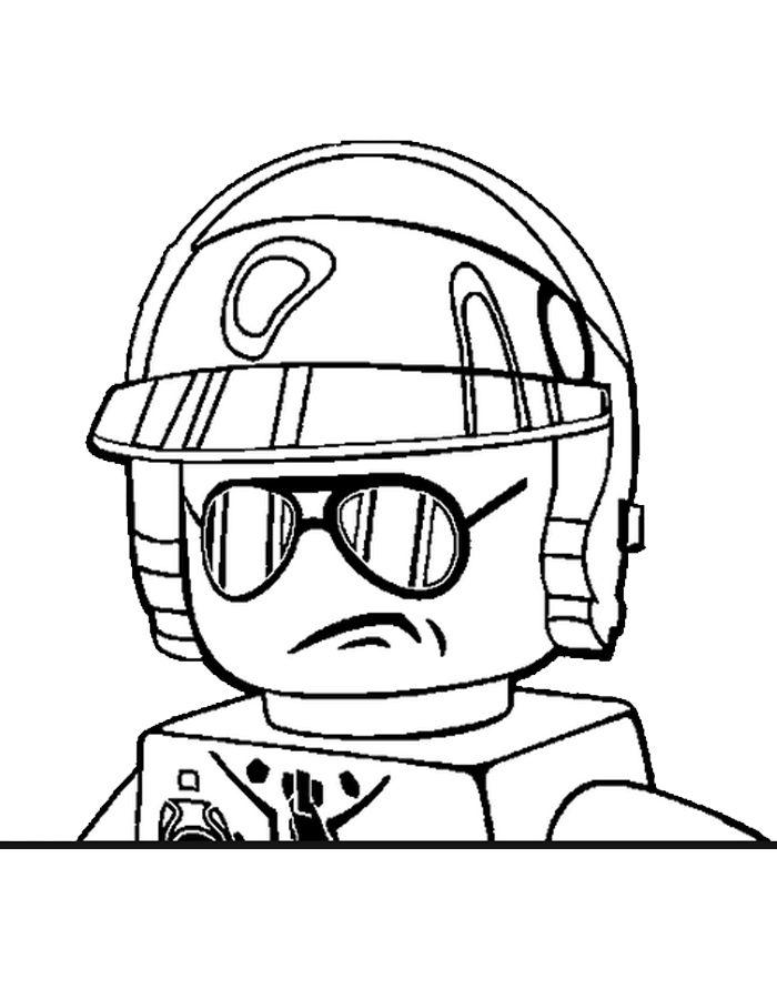 Ausmalbilder Ninjago Gesicht: Lego Ausmalbilder. Malvorlagen Zeichnung Druckbare Nº 3