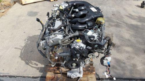 2007 LEXUS IS250 ENGINE COMPLETE 2.5L, VIN K, 5th digit