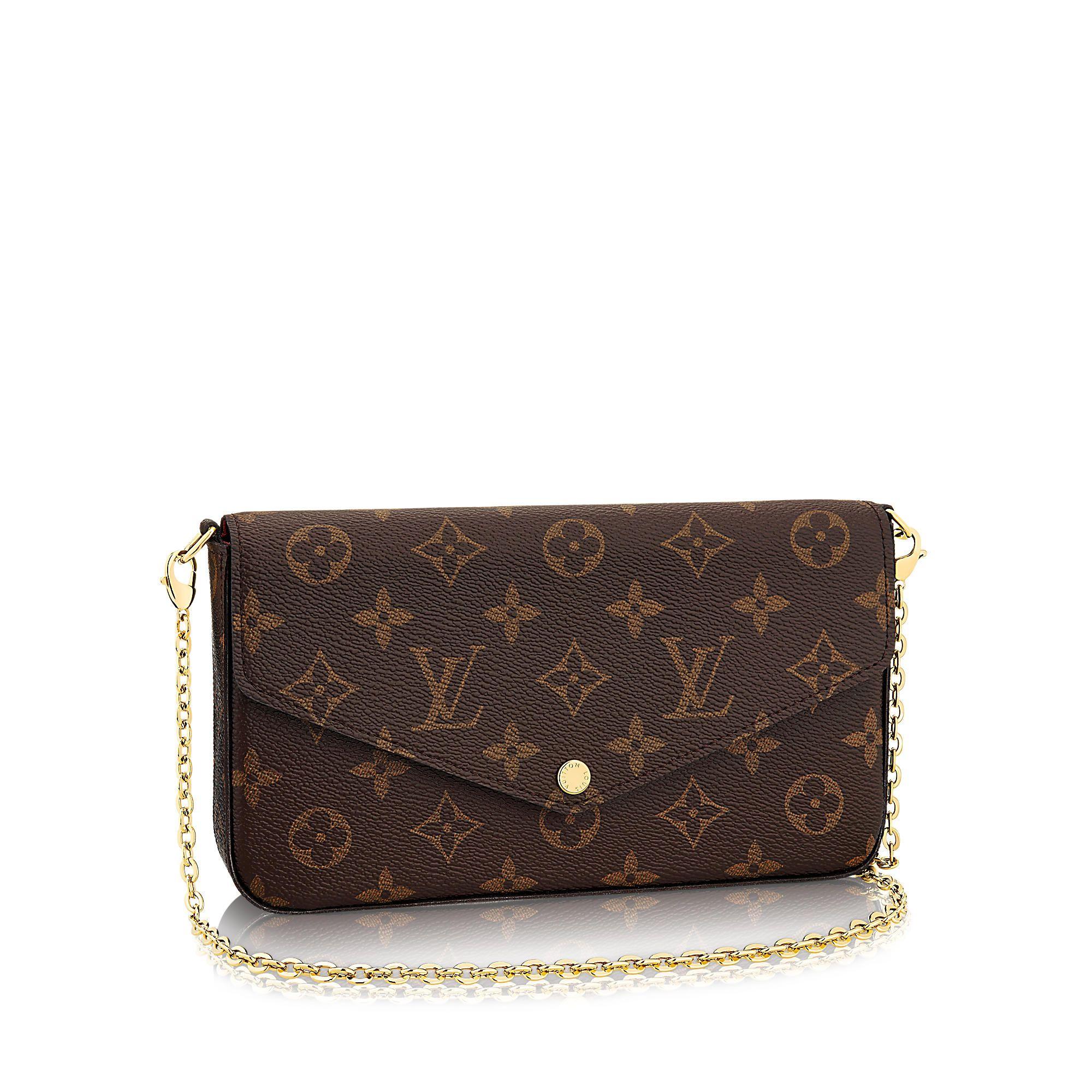 5187e5952814 Discover Louis Vuitton Pochette Felicie via Louis Vuitton