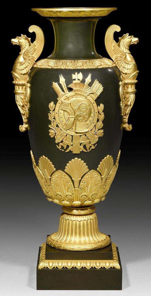 Prunk Vase Aux Griffons Empire Aus Einer Pariser Meisterw Urn