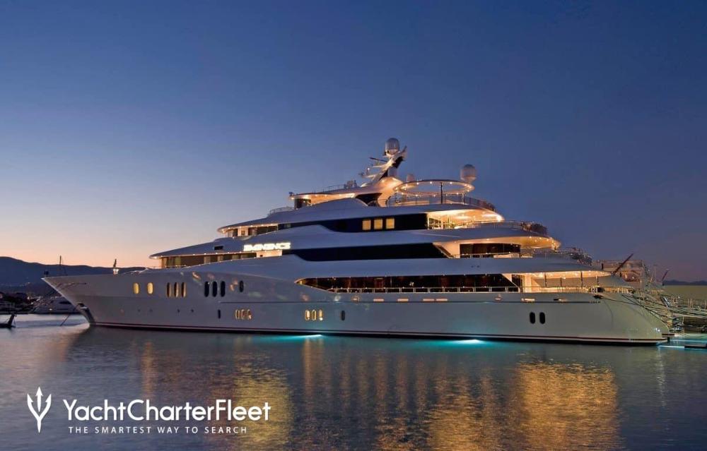 Eminence Yacht Charter Price Abeking Rasmussen Luxury Yacht Charter Yacht Design Yacht