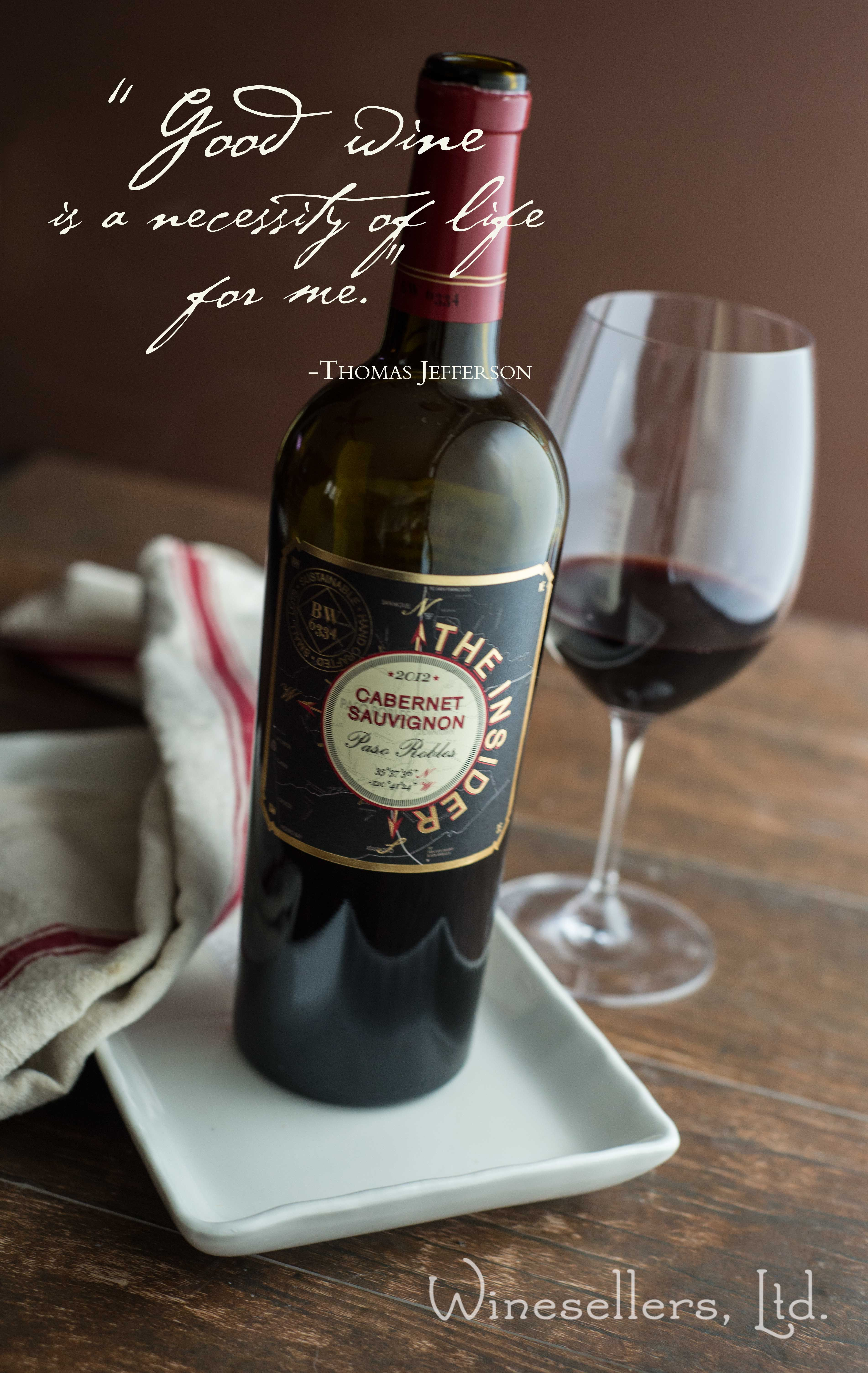 The aromas are classic Bordeaux, black cherry, and rich plum. It has intense berry fruit, bing cherry, and boysenberry flavors.