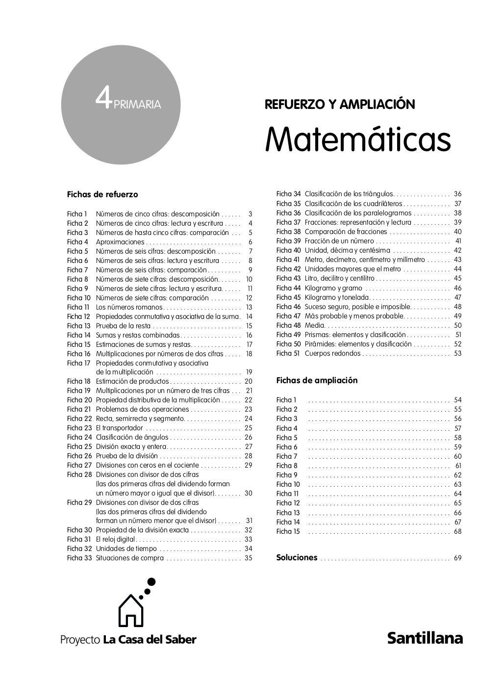 4 Refuerzo Y Ampliación Primaria Matemáticas Fichas De Refuerzo Ficha 1 Números De Cinco Cifras D Primaria Matematicas Fichas De Matematicas Matematicas